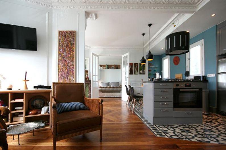 Belles photos de cuisine - Nouvelle cuisine avec des détails vintage