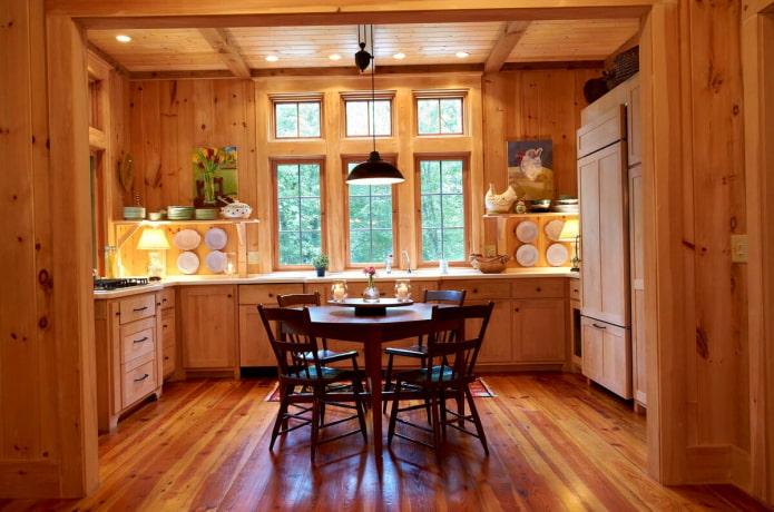 éclairage dans la cuisine dans la maison