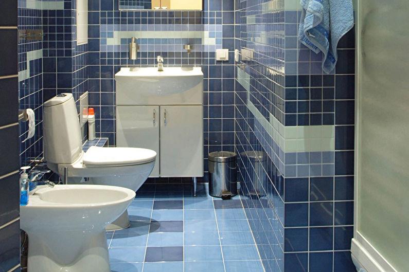 Conception de salle de bain étroite - Erreurs majeures