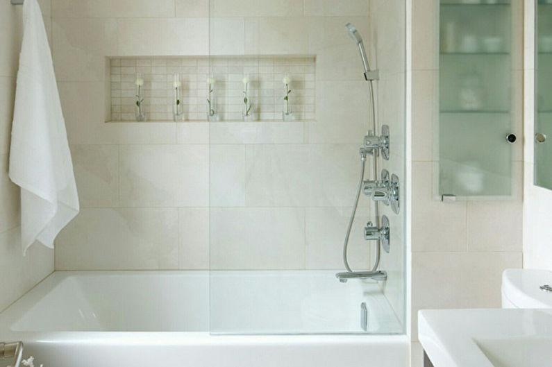 Conception de salle de bain étroite - Plomberie