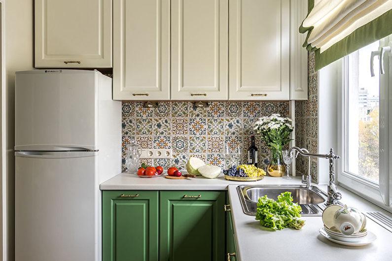 Cuisine 7 m²  Style provençal - Décoration d'intérieur