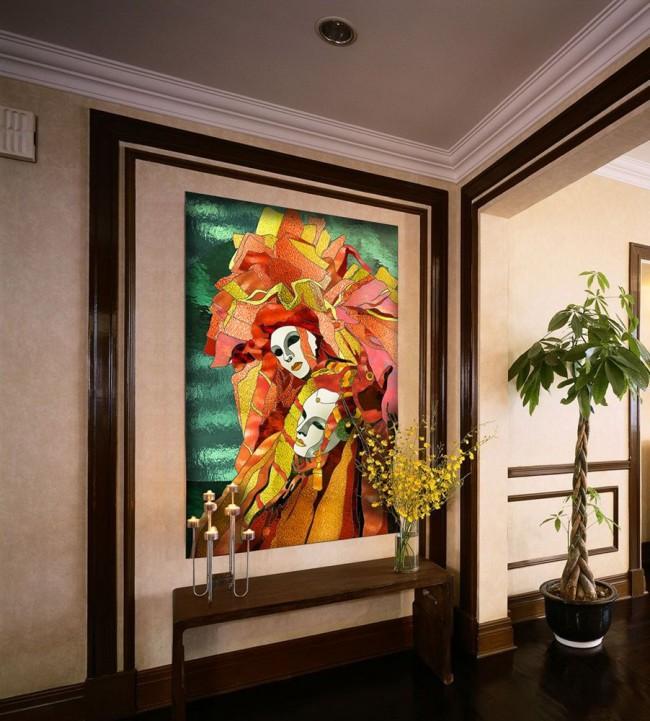 Seul un vitrail est capable de créer un environnement spécial à l'intérieur, un jeu de couleurs changeant et imprévisible.