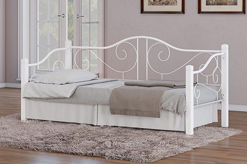 Types de lits simples - Selon matériaux