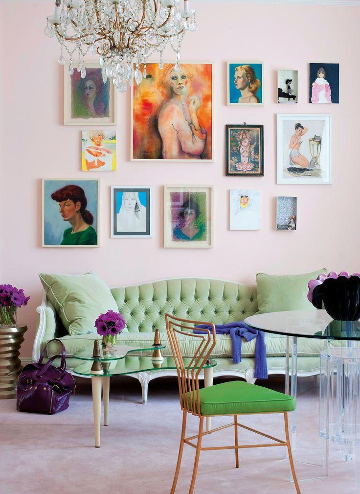 Photo 16 - La couleur beige du mur sera un excellent arrière-plan pour les peintures