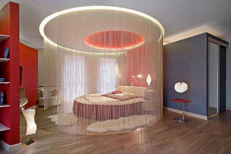 Types de plafonds en plaques de plâtre à deux niveaux