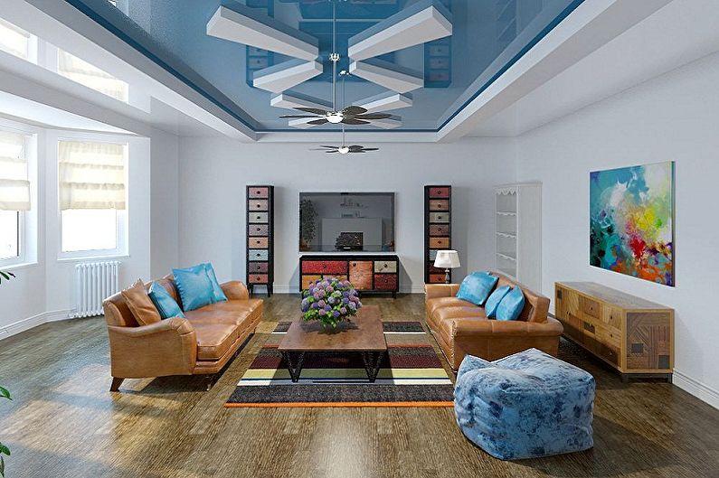 Plafonds en plaques de plâtre duplex - Caractéristiques