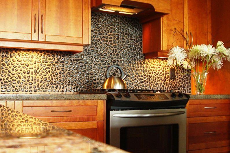 Pierre décorative dans la cuisine - Avantages et inconvénients