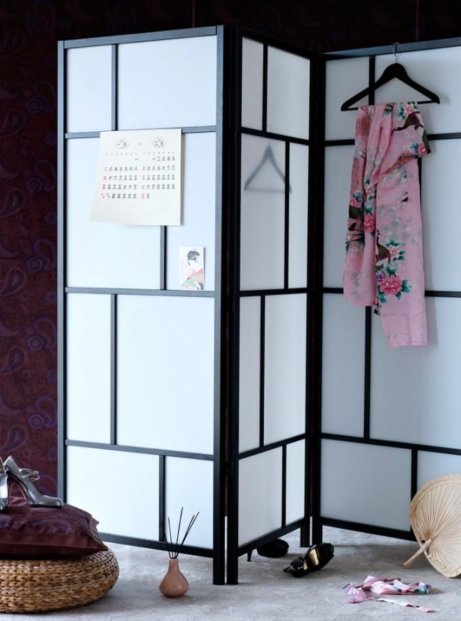 Style japonais raffiné dans la décoration des chambres