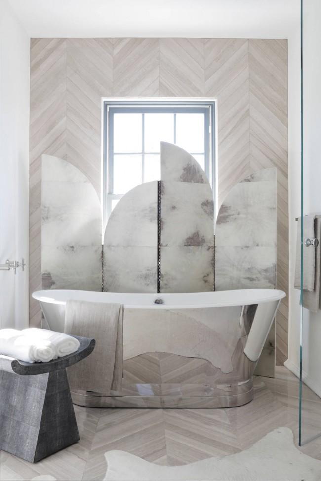 Conception de salle de bain art déco