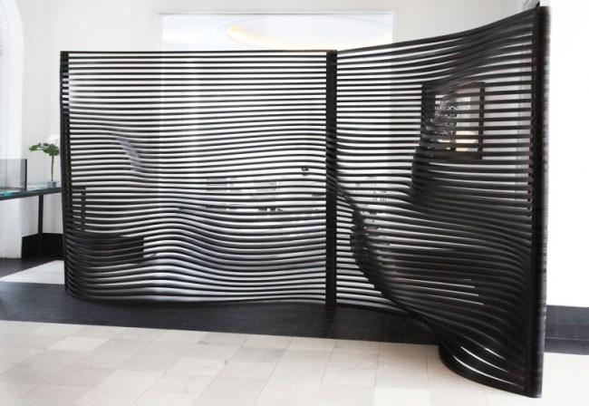 Nouveau dans le monde des cloisons - écran flexible
