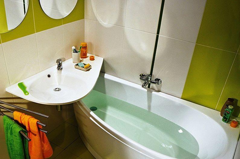 Conception de salle de bain 2 m²  - Par où commencer les réparations