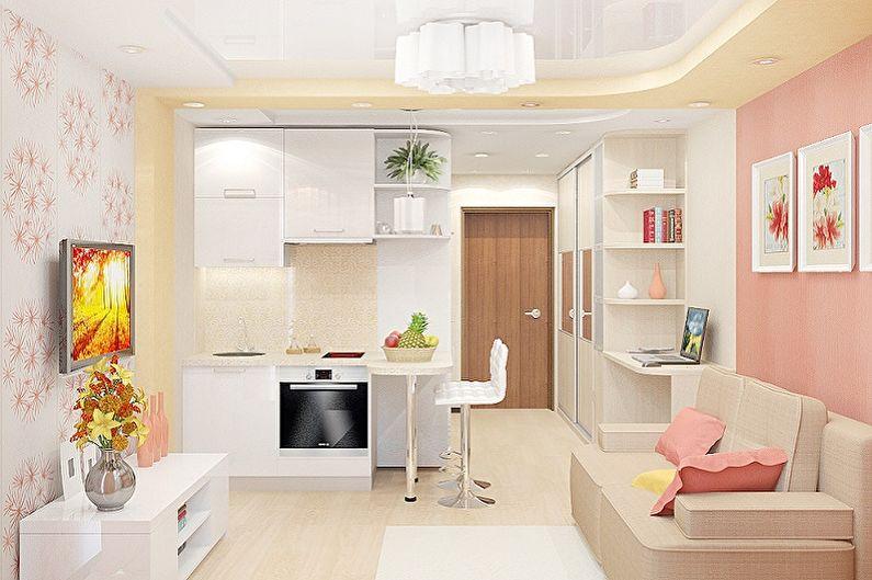 Conception d'un petit salon - Augmenter l'espace