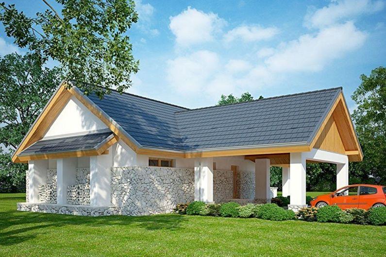 Maisons à un étage - De quoi construire