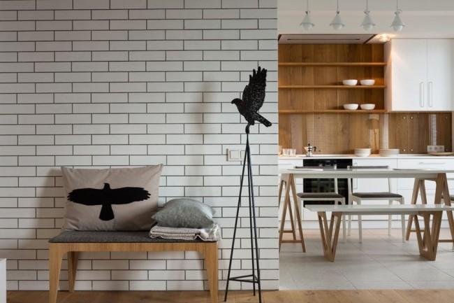 Les carreaux décoratifs en forme de brique pour la décoration intérieure vous permettront d'obtenir un effet décoratif de maçonnerie