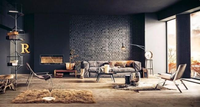 La brique décorative pour la décoration intérieure est un excellent moyen de devenir propriétaire d'un mur de briques décoratives