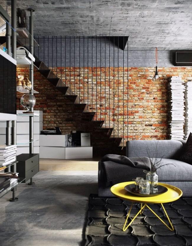 Différents types de briques décoratives peuvent être mélangés pour obtenir l'effet décoratif le plus optimal.
