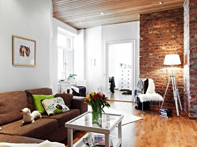 La décoration d'intérieur avec des briques décoratives vous permettra de décorer l'intérieur avec style et pratique