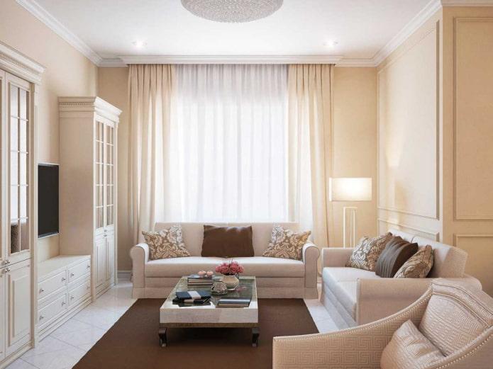meubles légers à l'intérieur