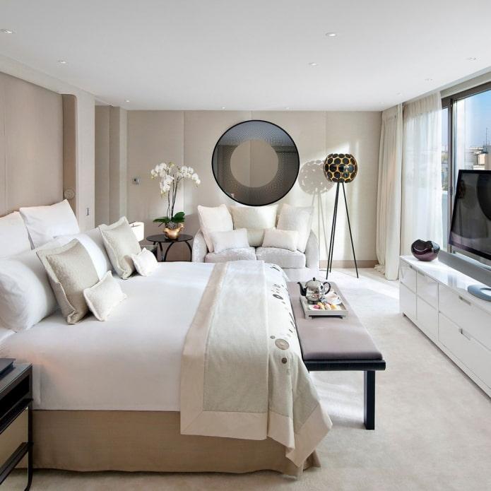 grande chambre de style moderne