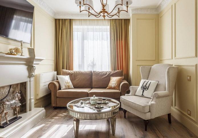 meubles rembourrés traditionnels