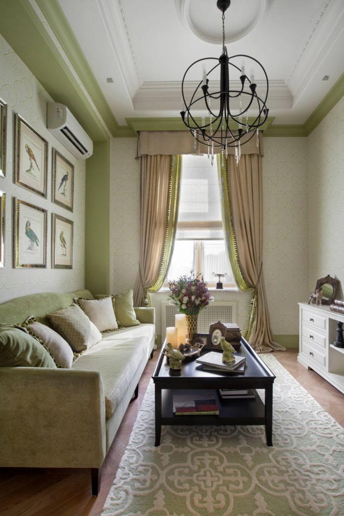 intérieur beige classique