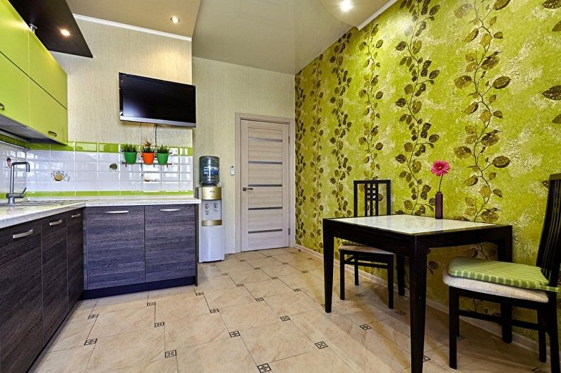 Couleur de papier peint pour la cuisine - Ce qu'il faut considérer lors du choix
