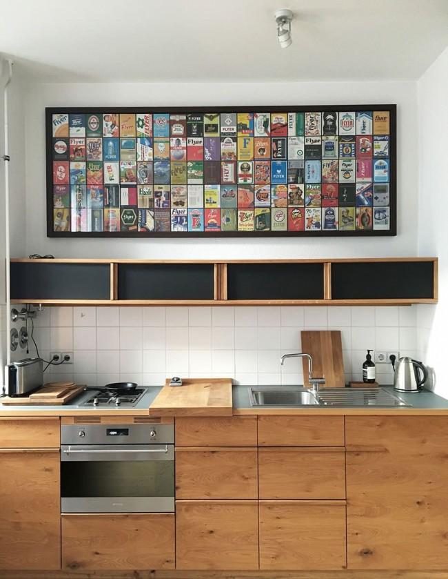 Armoires suspendues alternatives pour un mur qui ne peut pas être surchargé (plaque de plâtre sur profilés ou bois)