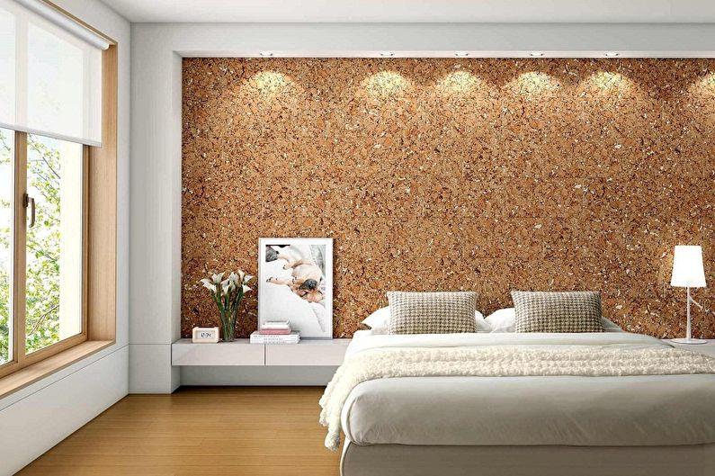 Couleur de papier peint pour chambre à coucher - Types de papier peint