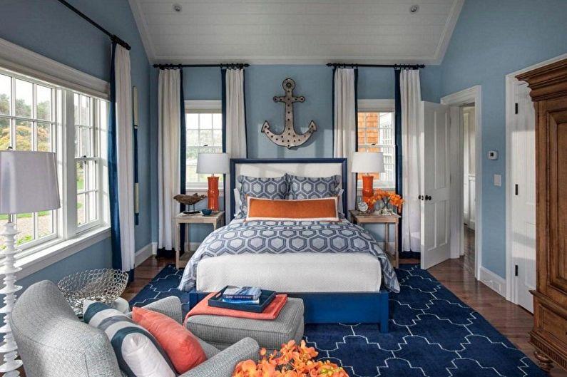 Papier Peint Chambre Bleu - Couleur Papier Peint Chambre