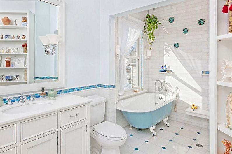 Combinaisons de couleurs à l'intérieur de la salle de bain - Perception psychologique