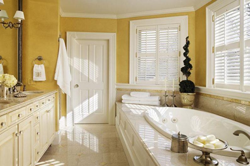 Combinaisons de couleurs de salle de bain - Couleurs chaudes