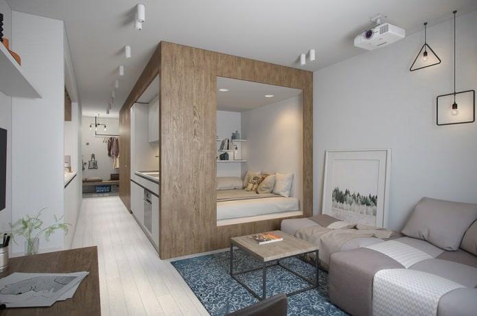 beau petit appartement de 30 m².  m.