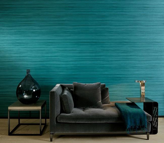 Le papier peint Aqua vous aide à vous détendre