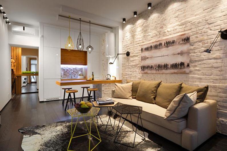 Cuisine - Conception d'un studio 33 m²