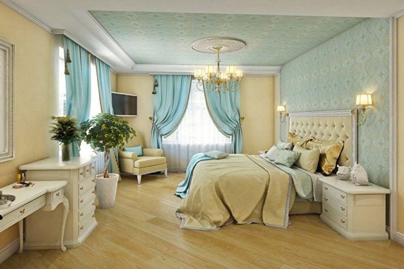 Conception de chambre turquoise - Combinaisons de couleurs