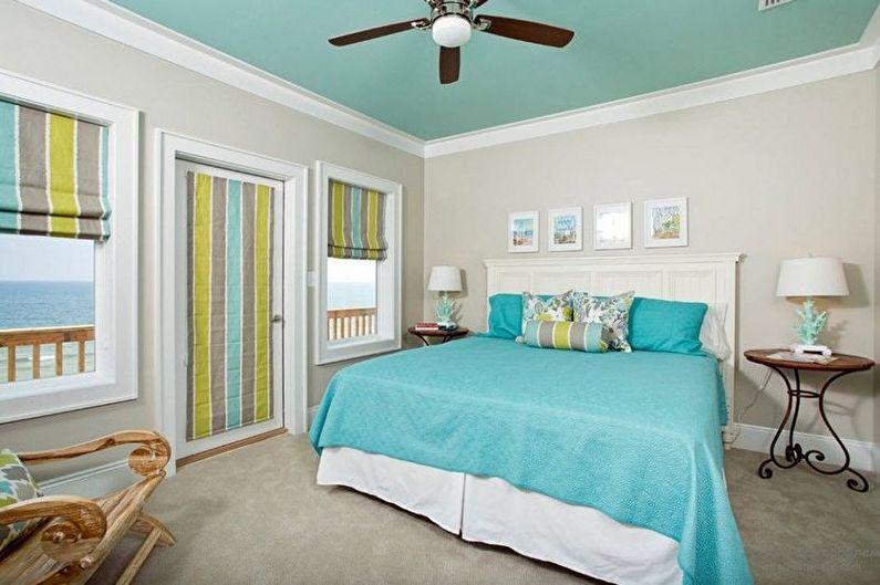 Design de chambre turquoise - Décorations murales