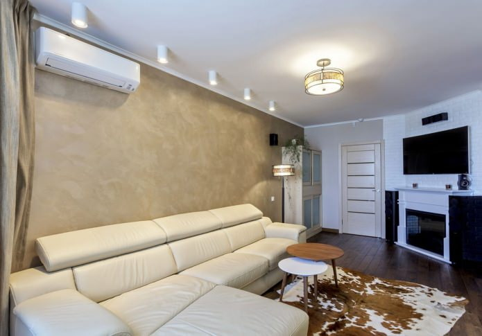 plafond blanc mat
