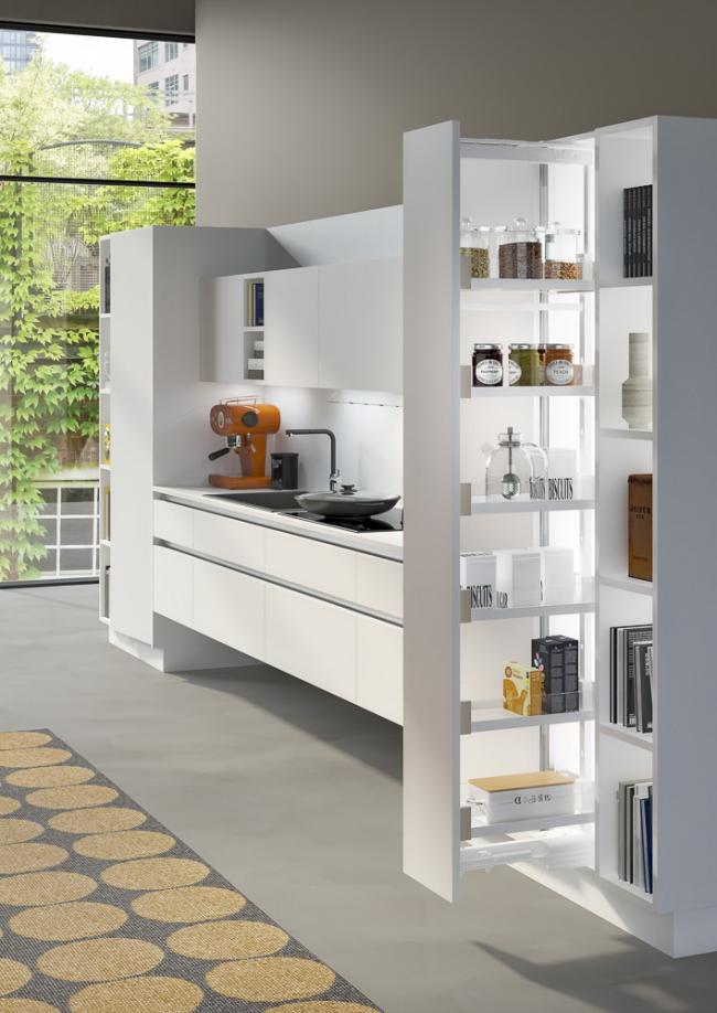 Idée pour un espace cuisine plus compact