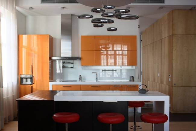 Ergonomie et style - concepts combinés pour une cuisine de 3 mètres