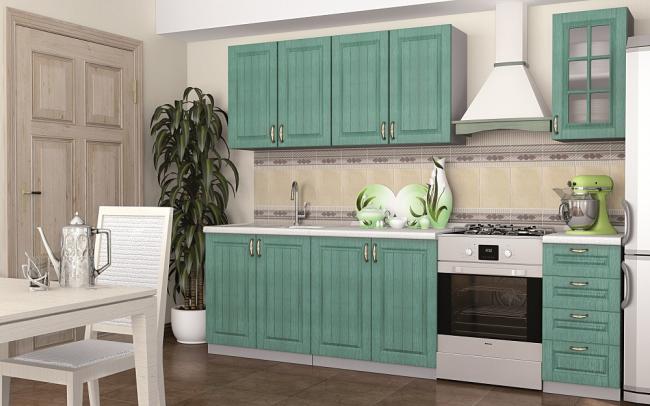 Placement compact des ustensiles et appareils électroménagers nécessaires à la cuisine