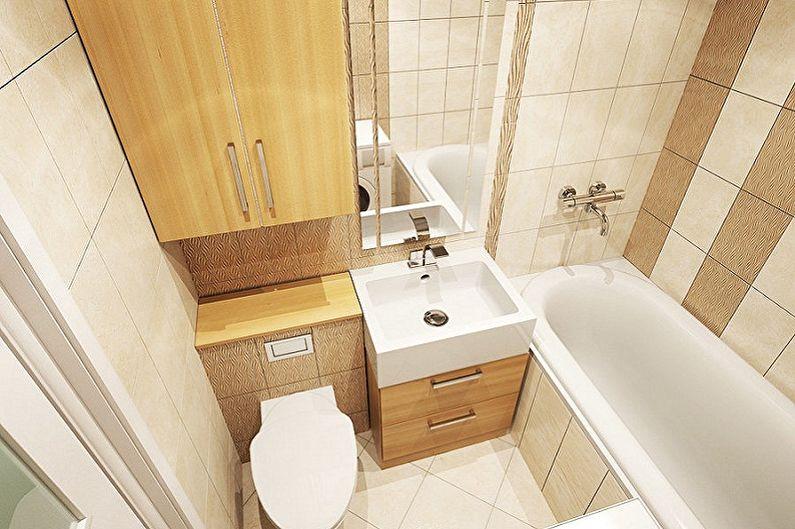 Conception de salle de bain 5 m²  - Par où commencer les réparations