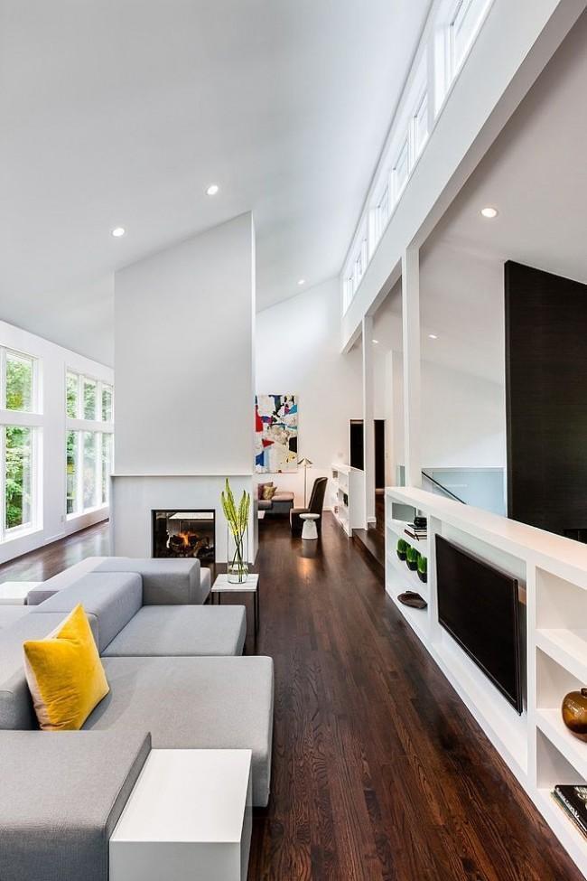 Une autre solution pour installer un téléviseur dans le salon