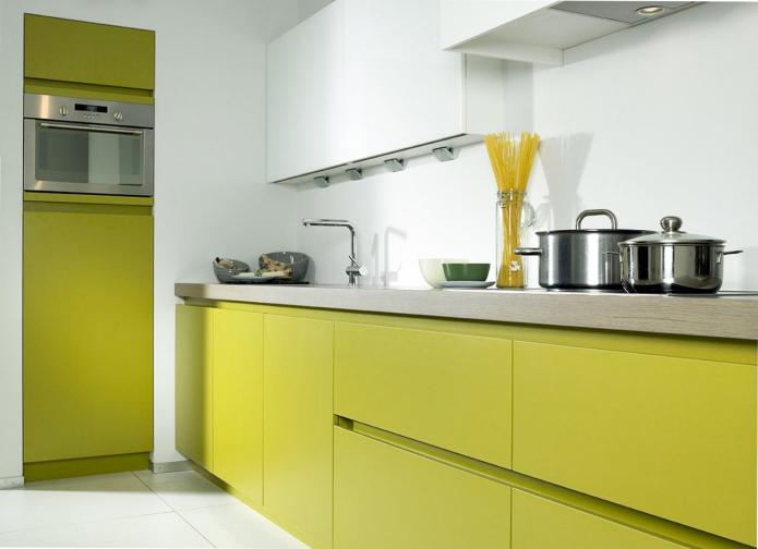 cuisine olive sans poignée