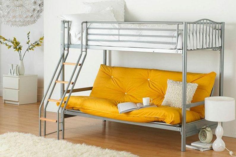 Canapé lit superposé