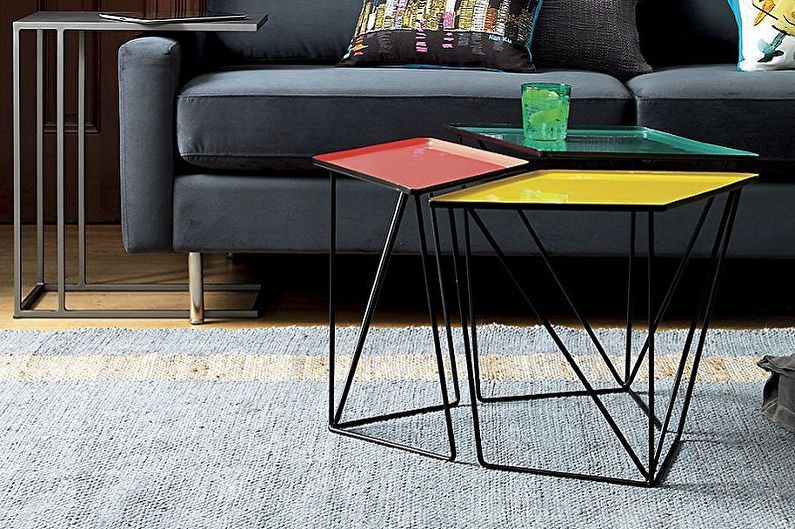 Table basse DIY - Matériaux pour la fabrication