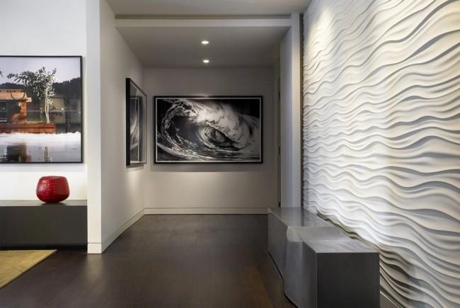 Panneaux MDF dans un intérieur de style moderne