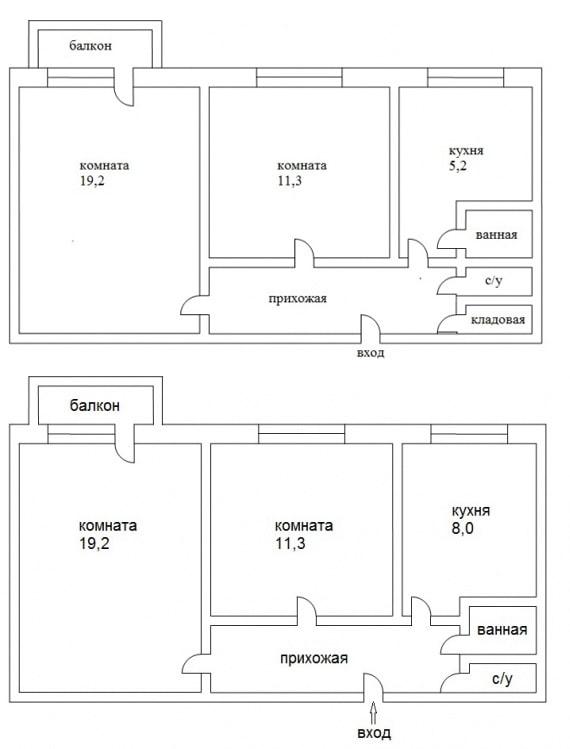 Réaménagement de la cuisine et de la salle de bain