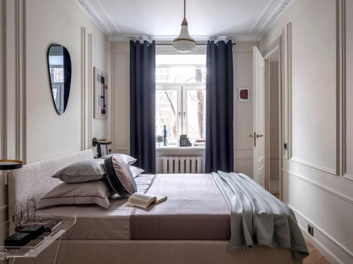 Chambre rectangulaire lumineuse