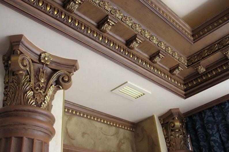 Moulure en stuc polyuréthane - Quelle surface choisir