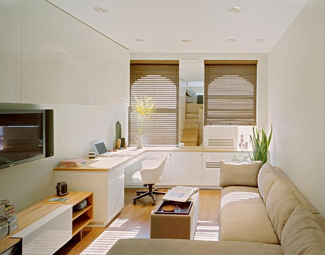Appartement aux couleurs pastel claires